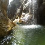 Stage canyon en Sierra de Guara